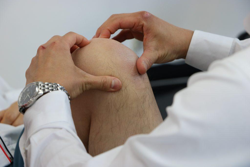膝関節屈曲制限